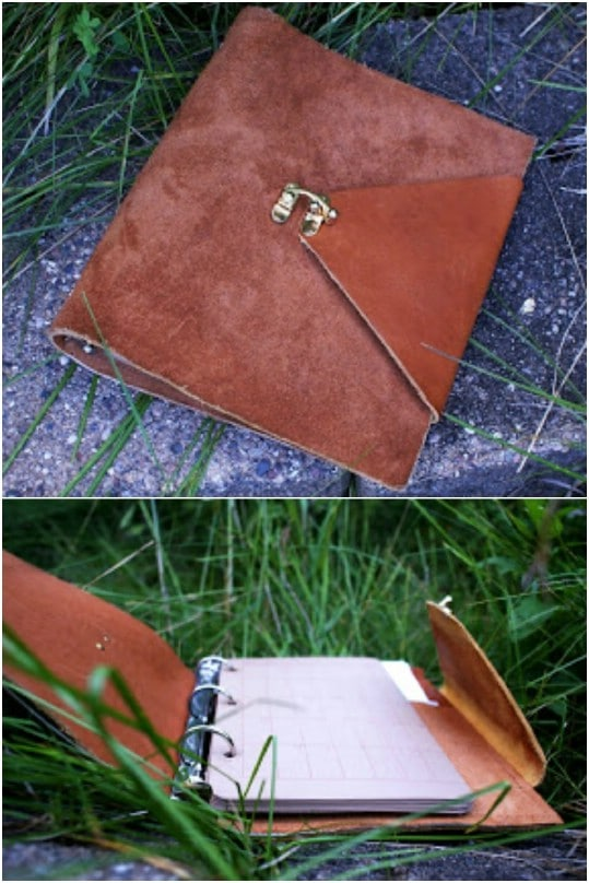 DIY Leather Journal Or Planner