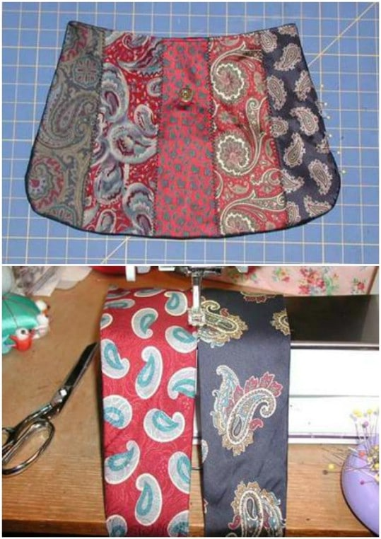 Stylish Necktie School Bag