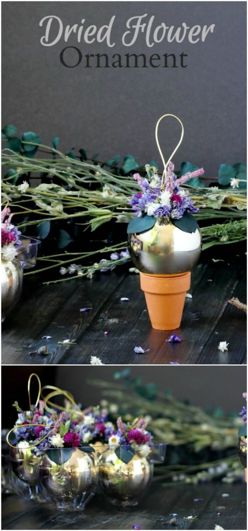 DIY Dried Flower Summer Ornaments