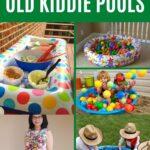 Old pool repurposing collage