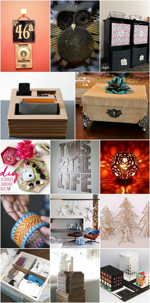 35 Brilliant Diy Repurposing Ideas For Cardboard Boxes Diy Crafts