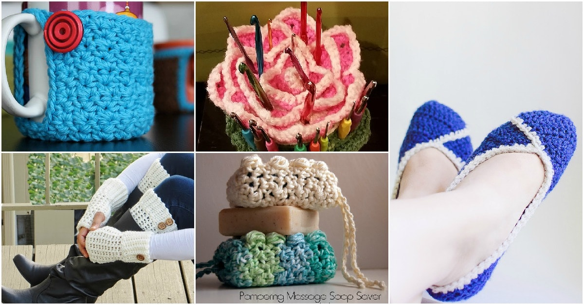 8c9e9bbdb6b 30 Beautifully Gorgeous Crochet Gifts That You Can Make Today - DIY ...