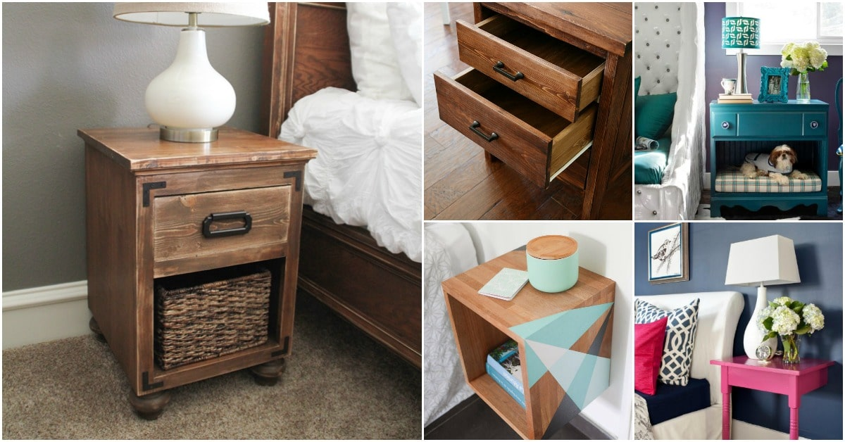diy nightstand projects f