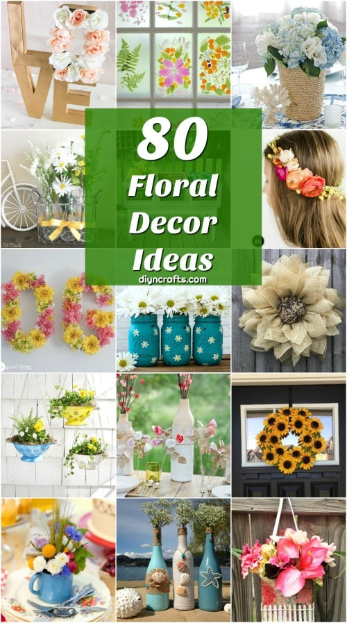 80 Beautifully Vibrant Floral Decor Ideas To Celebrate Summer Diy