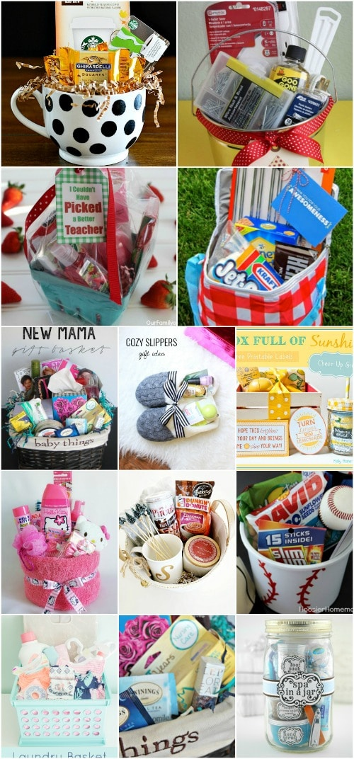 I love making my own gifts u2013 donu0027t you? I mean I love everything about it even creating my own gift baskets. Iu0027ve been making gift baskets for a while and ... & 30 Easy And Affordable DIY Gift Baskets For Every Occasion - DIY ...