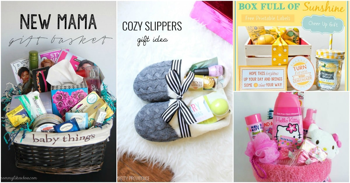 30 Easy And Affordable DIY Gift Baskets For Every Occasion : homemade spa gift baskets - medton.org