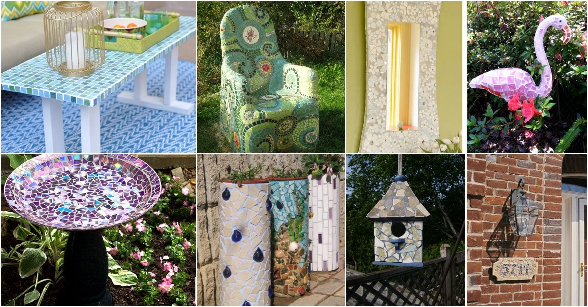 30 Gorgeous Mosaic Projects To Beautify Your Home And Garden Diy
