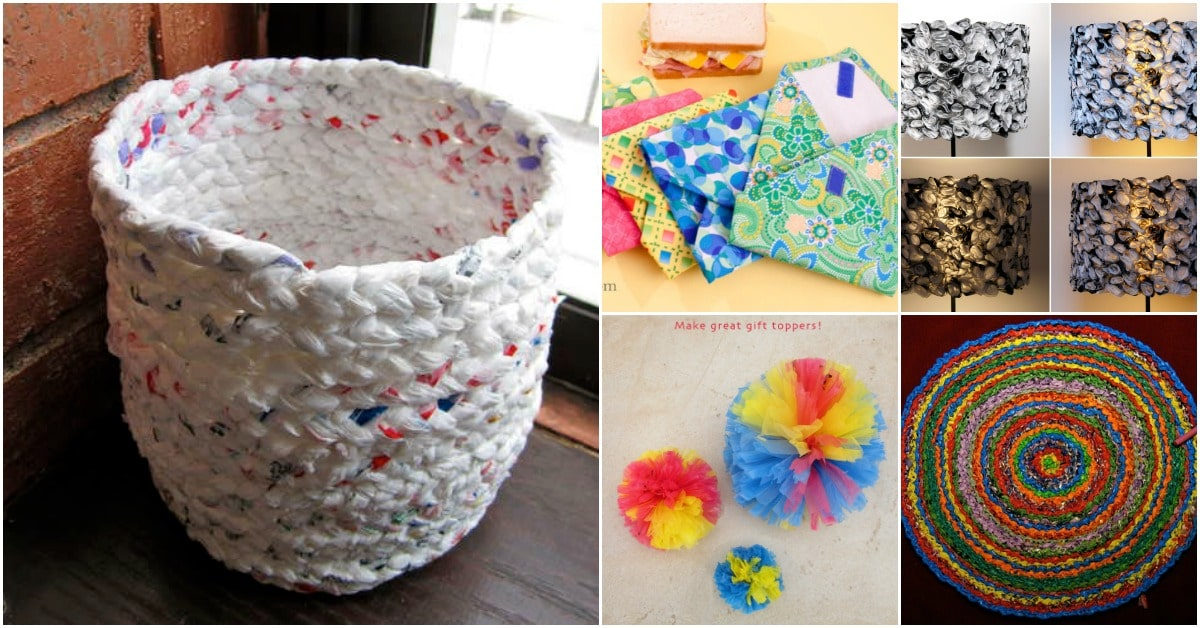 30 Amazing Upcycling Ideas To Turn Grocery Bags Into