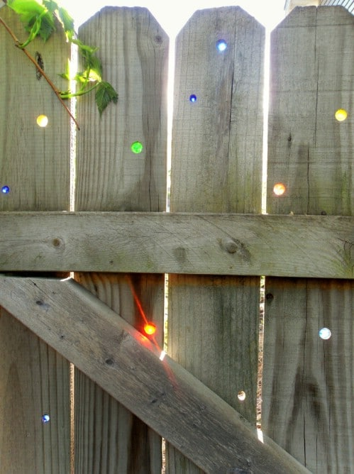DIY Magic Marble Fence
