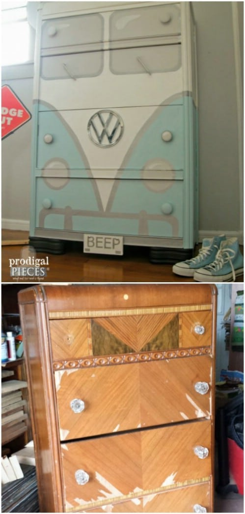 25 Beautiful Furniture Makeover Ideas Using Paint Diy