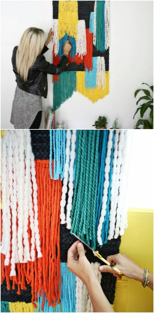 DIY Tapestry Wall Hanging