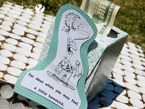 Cute Money Dispenser