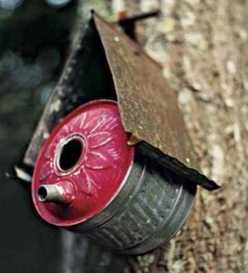 Recycled Garden Tool Birdhouses