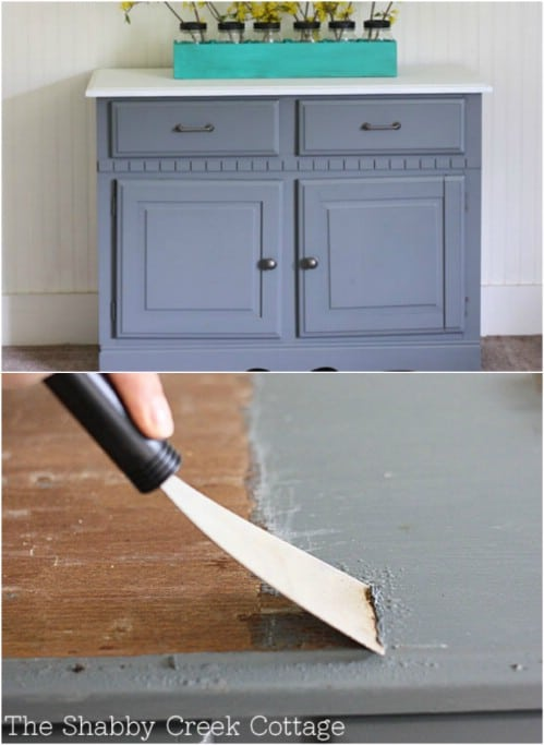 Remove Paint From Furniture