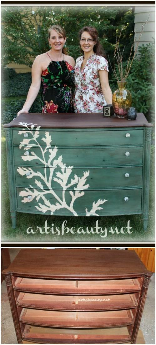 Paint a lovely, simple, elegant design.