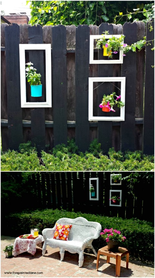 Eye Popping Fence Decorating Ideas That Will Instantly