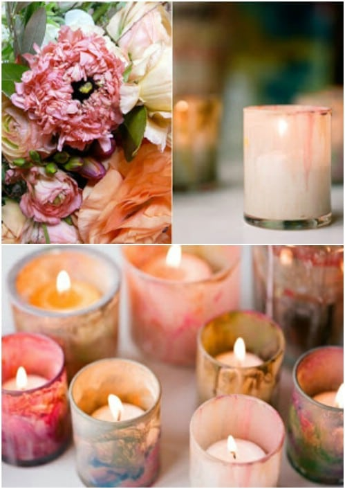 DIY Lavender Candles