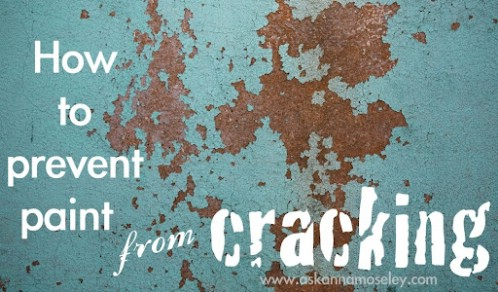 Keep Paint From Cracking