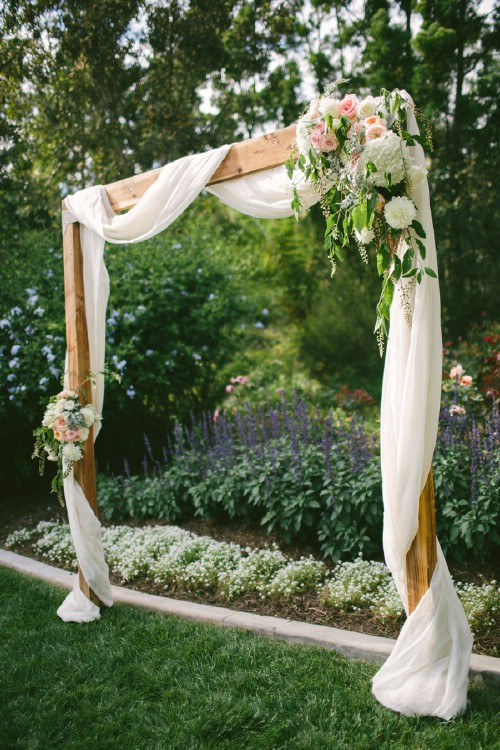 Easy DIY Wedding Arch