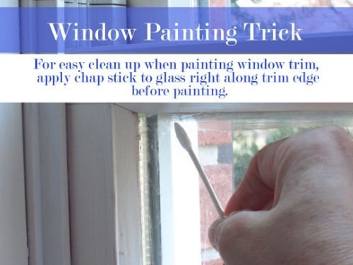 Clean Up Windows Easily After Painting