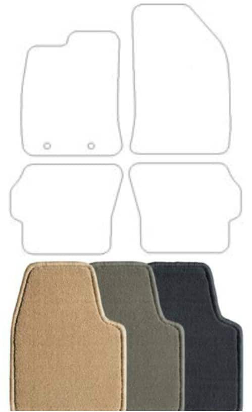 Easy DIY Carpet Floor Mats