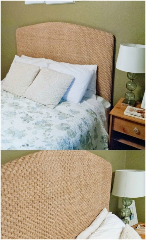 Pottery Barn Inspired Upholstered Headboard