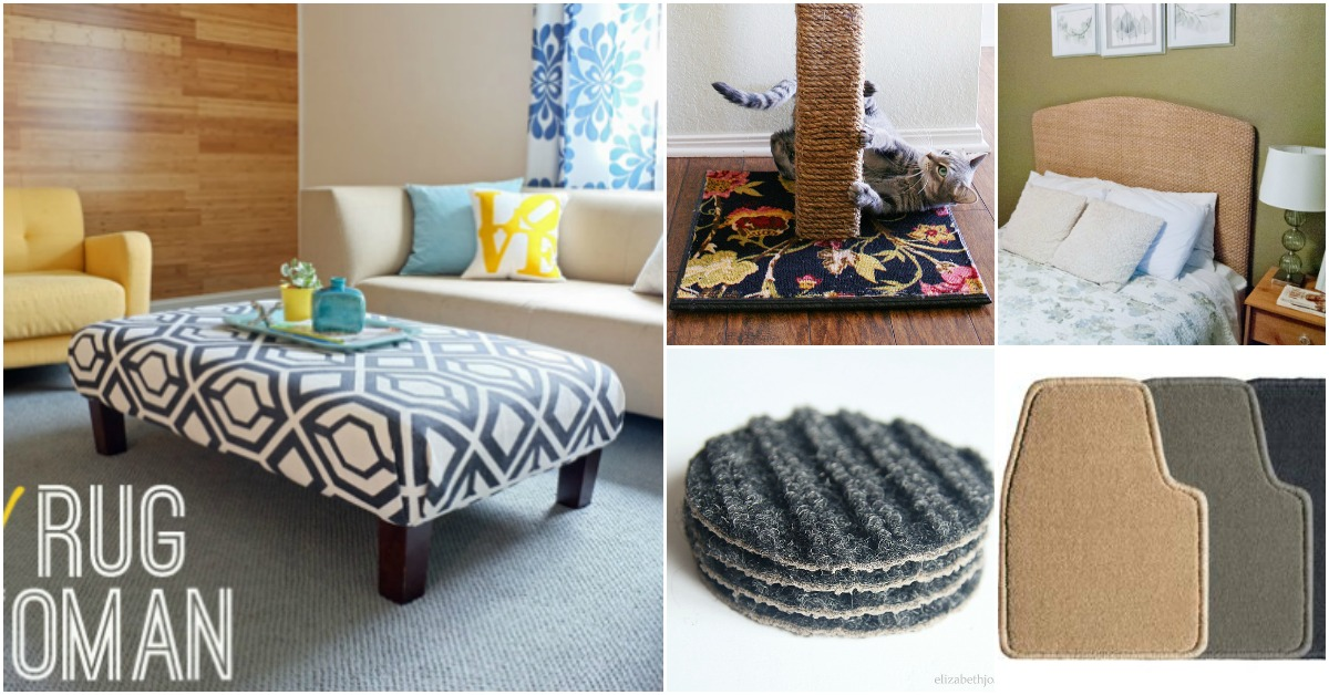 20 Brilliant Carpet Repurposing Ideas That Will Astound You