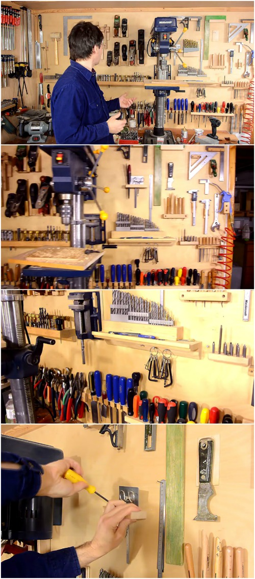Professional DIY System You Can Replicate to Organize Your Tools