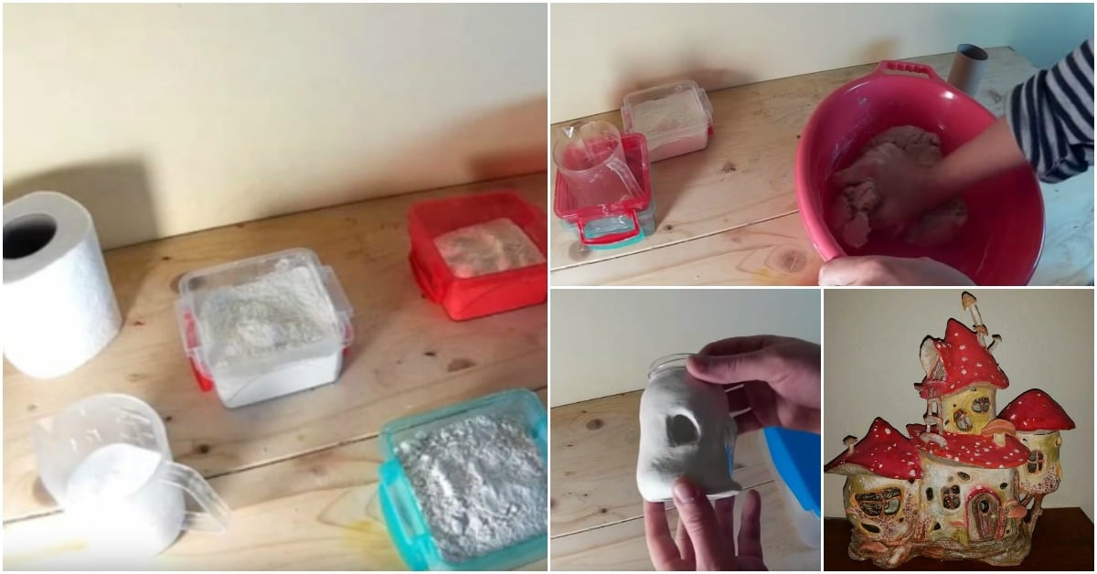 How to Make Air Dry Paper Clay That Doesn't Crack - DIY & Crafts