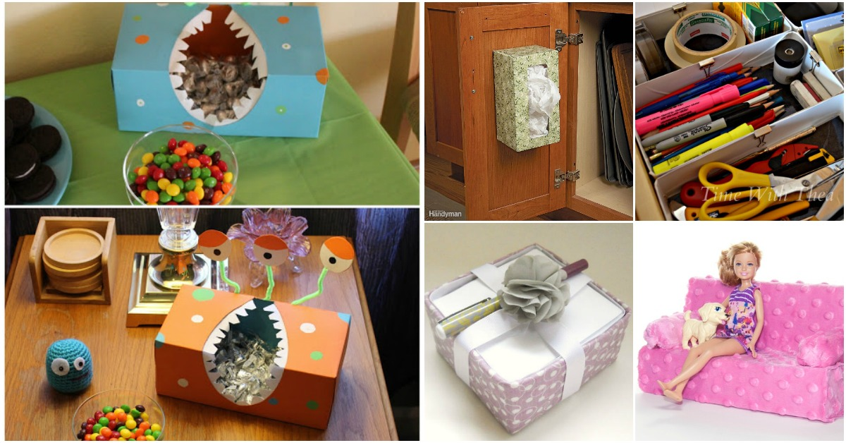 30 Shoe Box Craft Ideas: 25 Innovative Upcycling Projects That Give New Life To