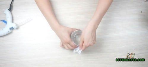 Lace Candleholder - Step 1