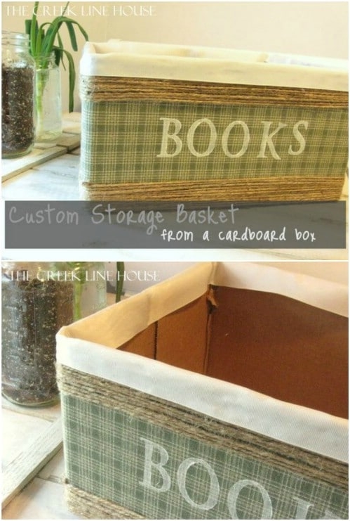 Custom Twine Storage Basket