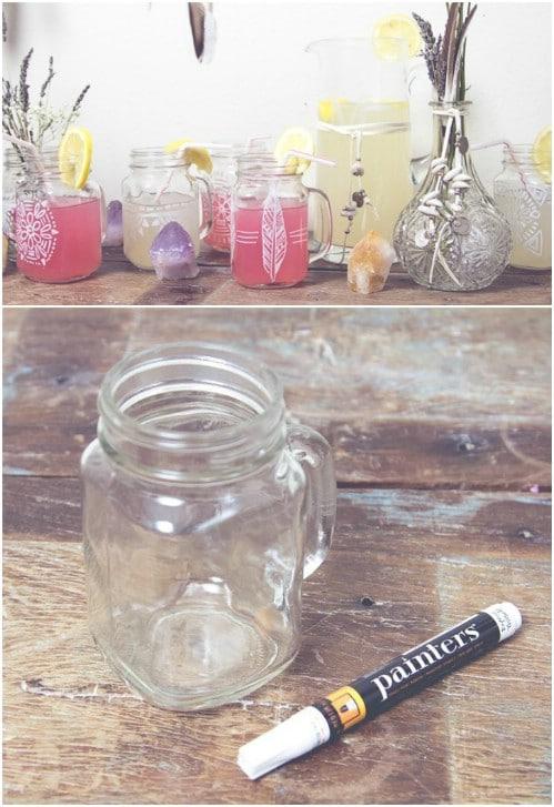 DIY Customized Drinking Glasses