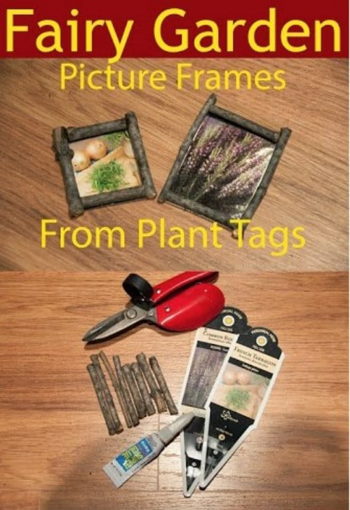 DIY Fairy Garden Plant Tag Pictures