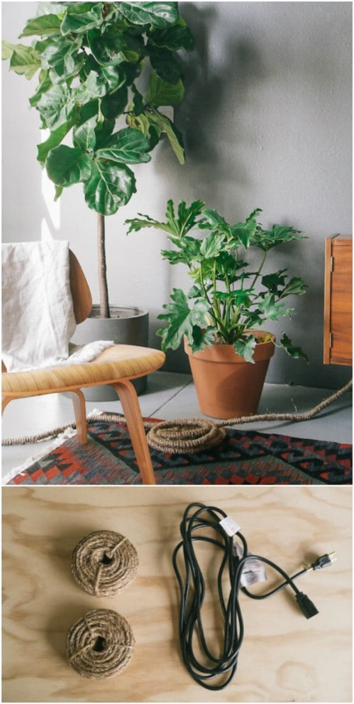 Decorative Twine Power Cords