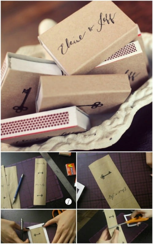 DIY Matchbook Covers