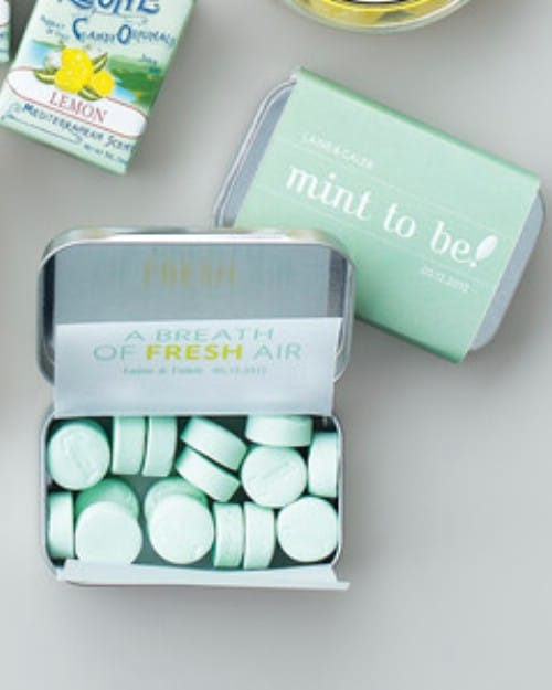 DIY Personalized Mint Tins