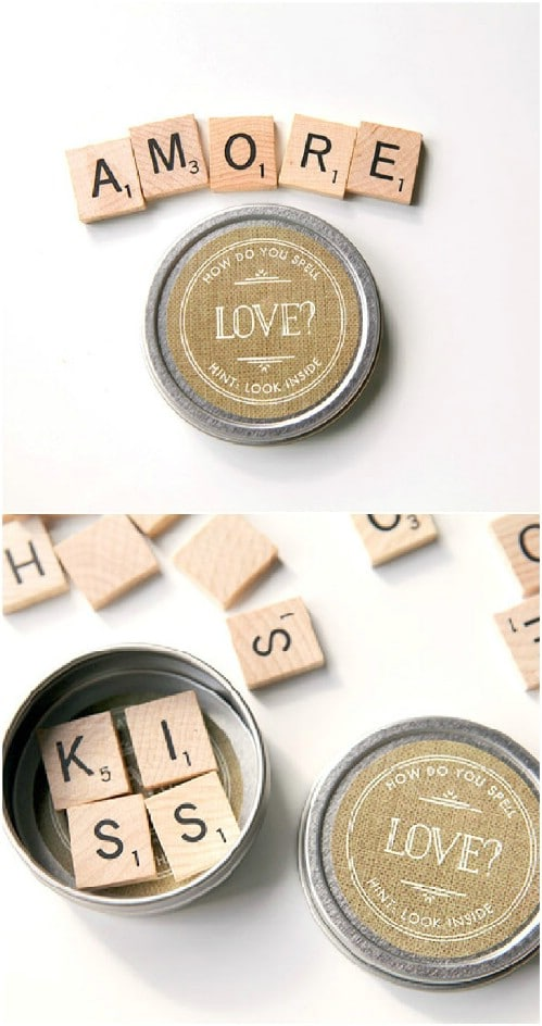 Scrabble Magnet Favors