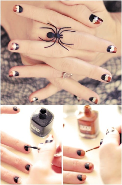40 Frightening and Fun Halloween Nail Art Designs You Can ...