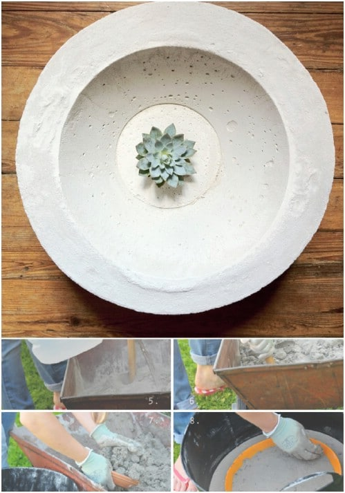 DIY Concrete Bowl