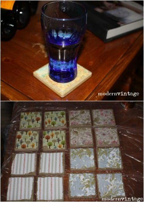 Handmade Coaster Wedding Favors