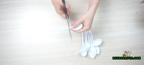 Spoon Candleholder - Step 1