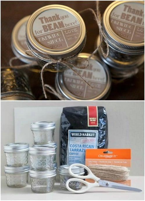 Adorable Coffee Bean Wedding Favors