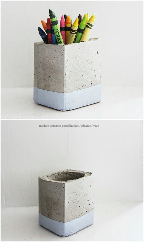 40 Creatively Cool Concrete Projects You Need In Your Life