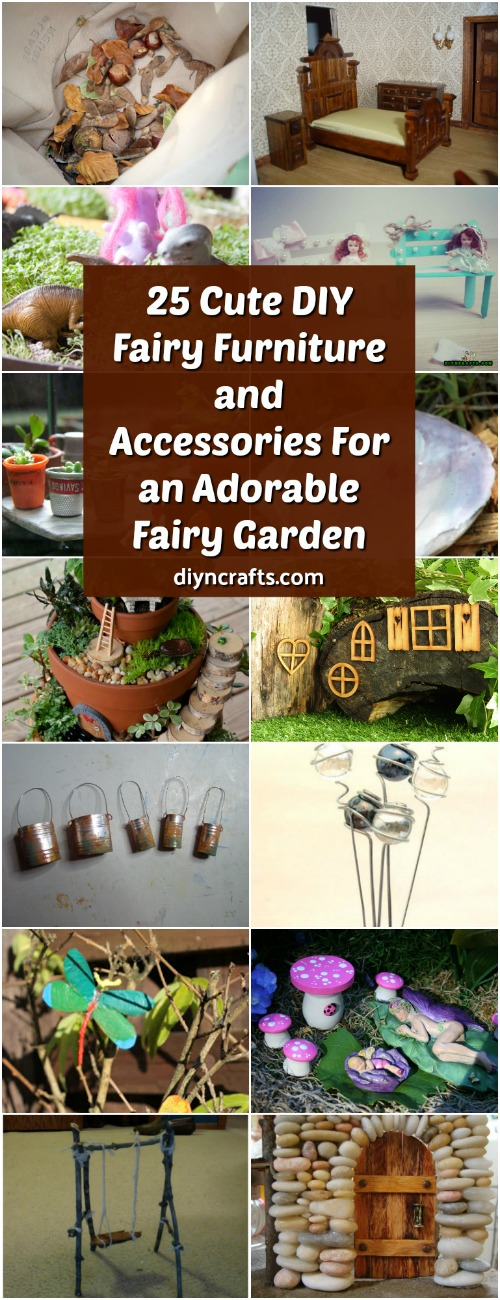 25 Cute Diy Fairy Furniture And