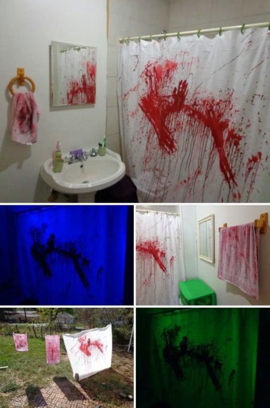 Gruesome Bathroom Murder Scene