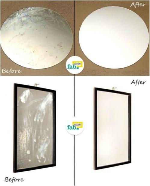 Easy DIY Mirror Restore