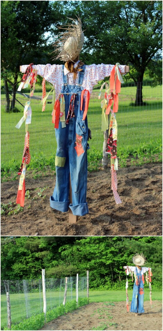 DIY Fall Scarecrow