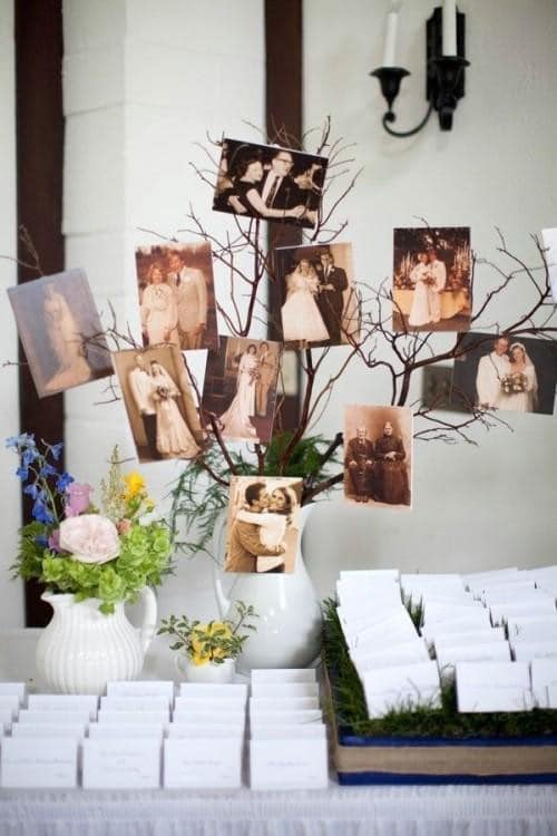 DIY Photo Tree