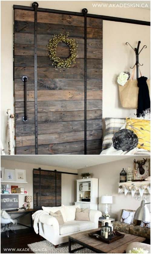 Low Cost Barn Door and Barn Door Track